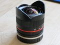 Объектив Samyang Samyang 8mm F2.8 Aspherical IF MC Fish-eye for NEX, 700 ₪, Кармиель